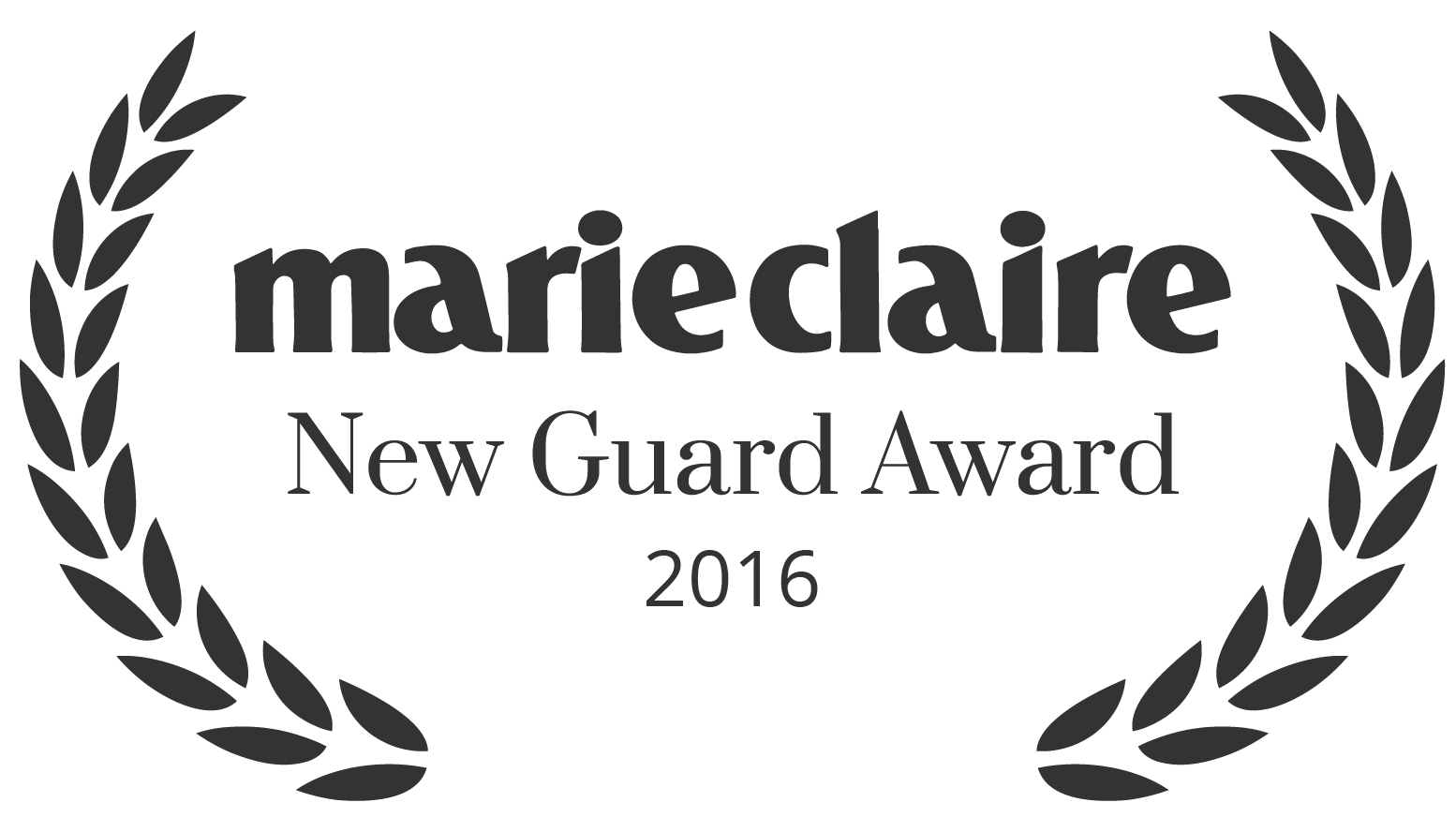 Marie Claire New Guard Award